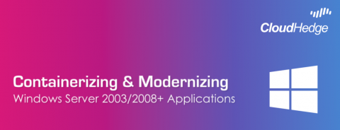 Modernise Windows 2008 Apps, Automatically!